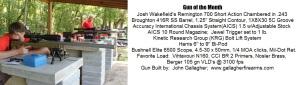 Josh Wakefield Gun of the Month
